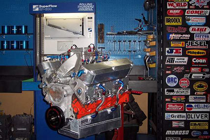 Duster on Engine Intake Manifold
