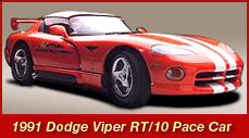 1991 Dodge Viper RT 10 Pace Car