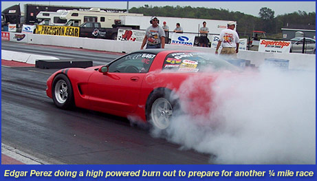 1999 C5 Corvette Burn Out