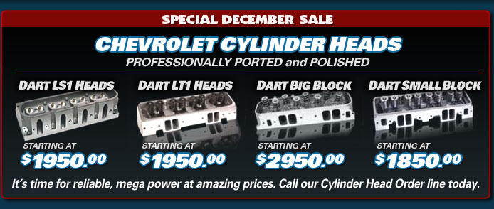 Cylinder Heads Special Sale